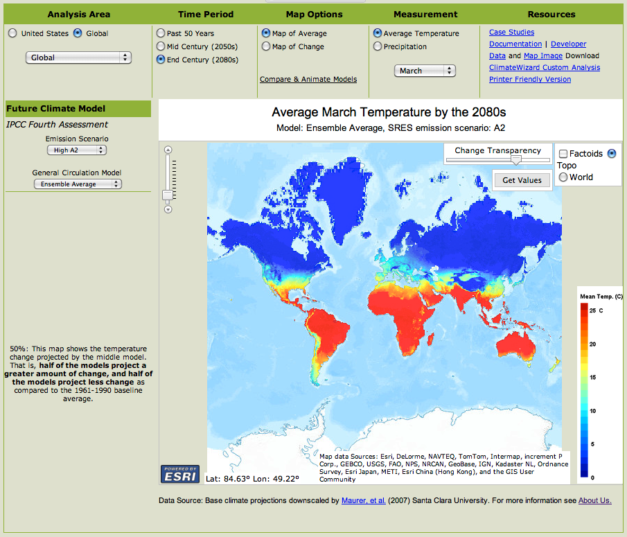 Climate data and projections at your fingertips - G-FEED