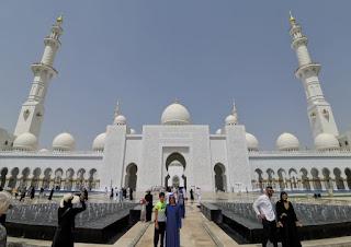 Mezquita Sheikh Zayed Bin Sultan Al Nahyan, Abu Dabi, Abu Dhabi, Emiratos Árabes Unidos.