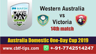 Who will win Today, Australia ODD, 15th Match WAU vs VCT