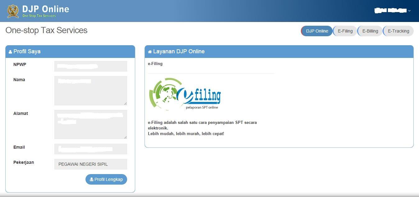 Cara Mengisi SPT Tahunan Guru PNS Secara Online Pada E-Filing
