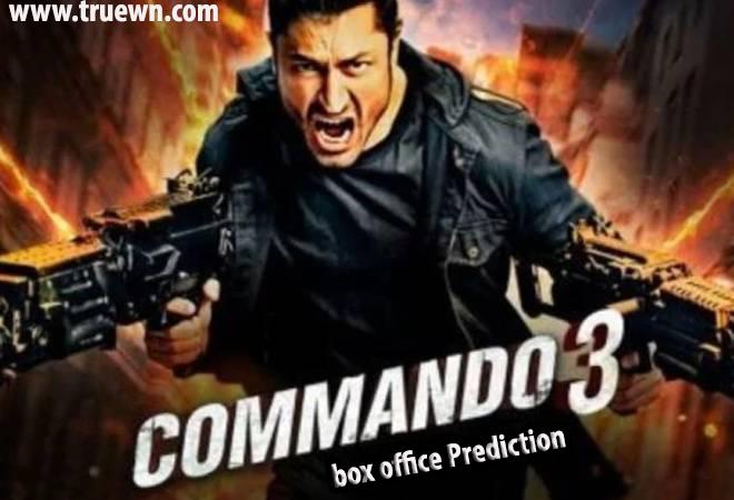 Commando 3 box office Prediction Vidyut Jammwal's Action film