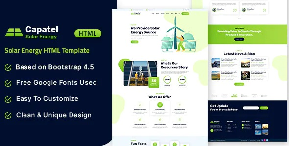 Best Solar Energy HTML Template