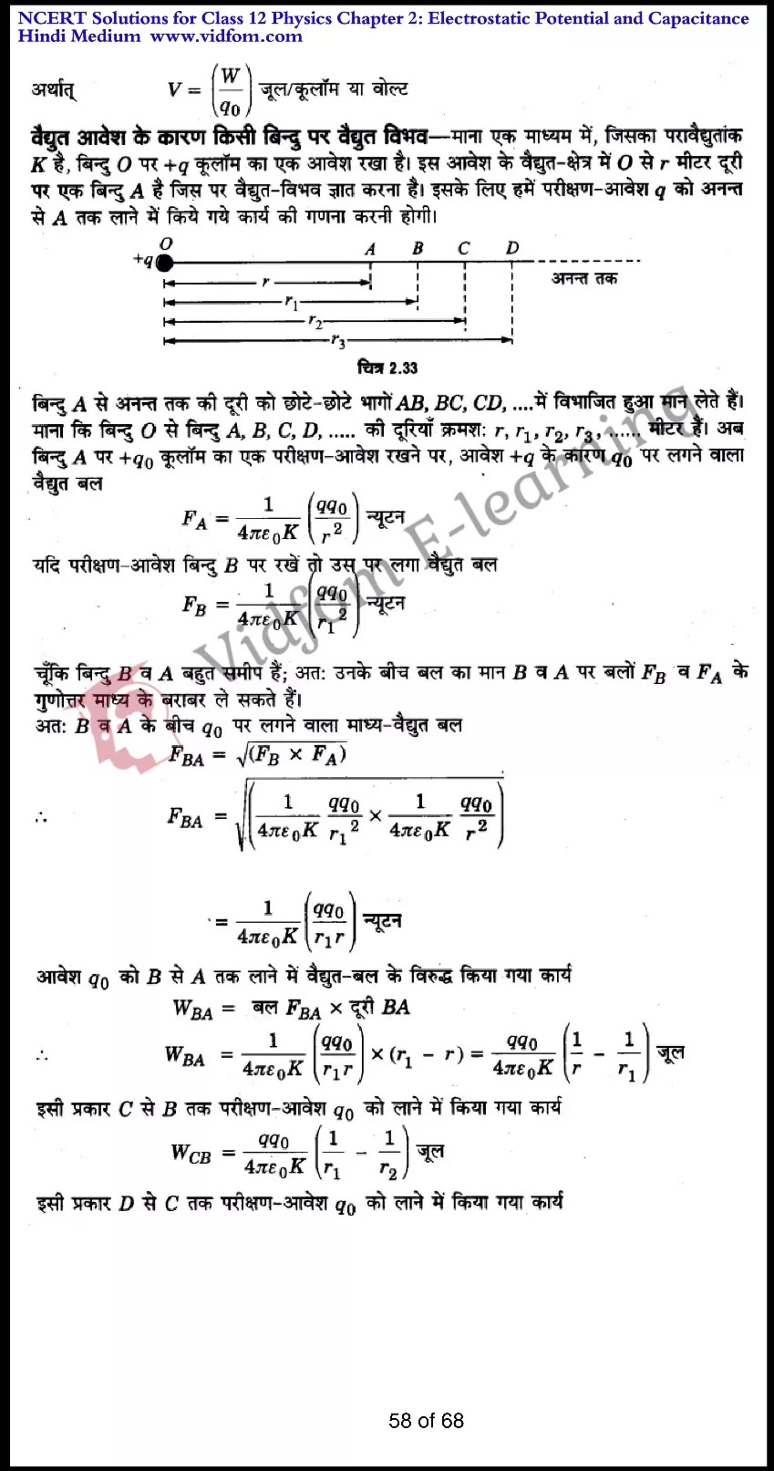 class 12 physics chapter 2 light hindi medium 58