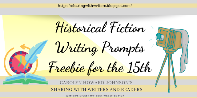 Writing Prompts Freebie for the 15th: Historical Fiction