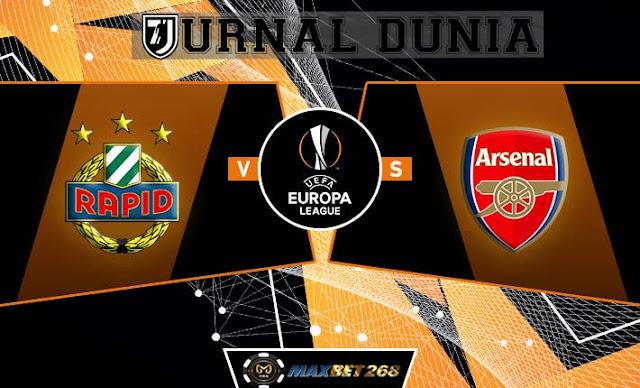 Prediksi Rapid Wien Vs Arsenal, Kamis 22 Oktober 2020 Pukul 23.55 WIB @ SCTV