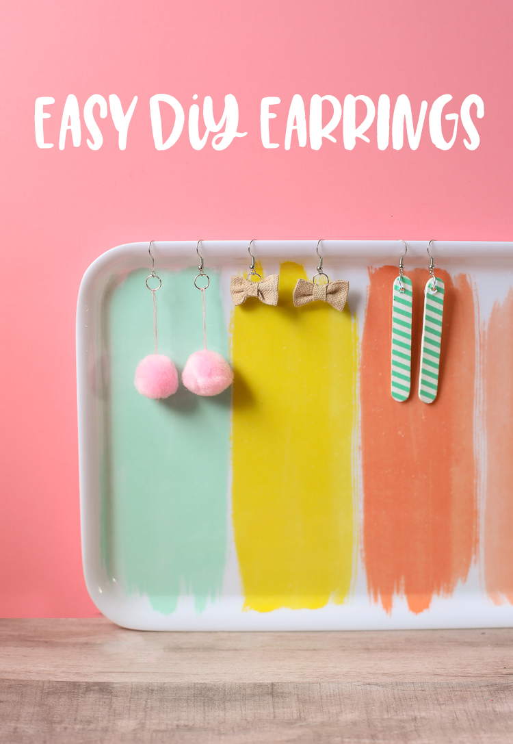 DIY Earrings Three Ways