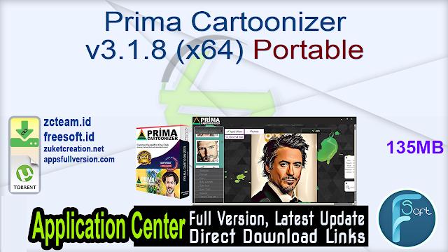 Prima Cartoonizer v3.1.8 (x64) Portable