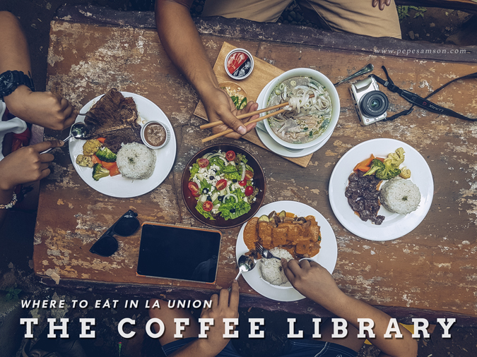 The Coffee Library La Union: Come for the Food, Stay for the Coffee
