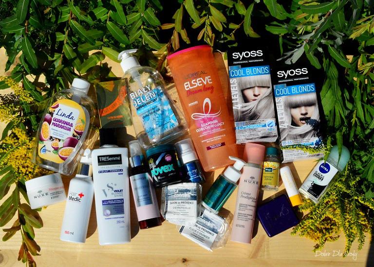 Kosmetyczne zużycia Sierpnia - DENKO w mini recenzjach  denko kosmetyczne