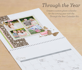 calendar kit, ctmh, papercrafting