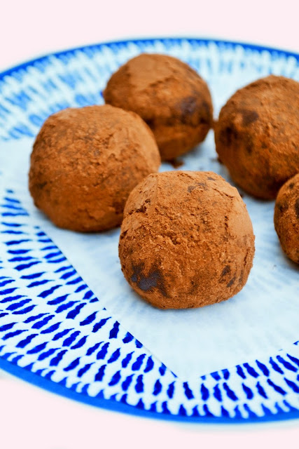 Chocolate Maple Truffles