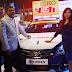 Superstar Parvatii Nair unveils the Maruti S-CROSS Lead Car