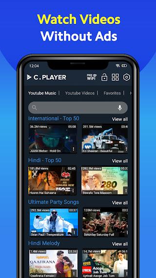 تحميل تطبيق مشغل الفيديو سي بلاير CPlayer APK للاندرويد