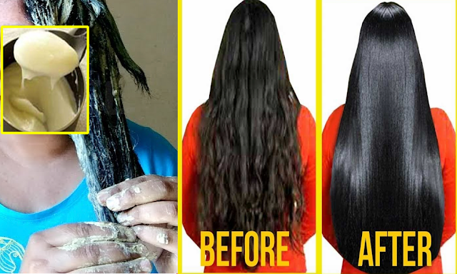 Best Natural Way To Get a Shinier And Straighter Hair You Ever Wanted!