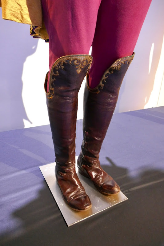 Prince Edward Enchanted costume boots detail