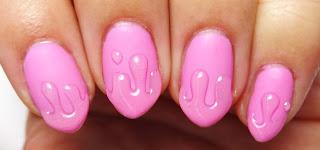 3D Drip Nails