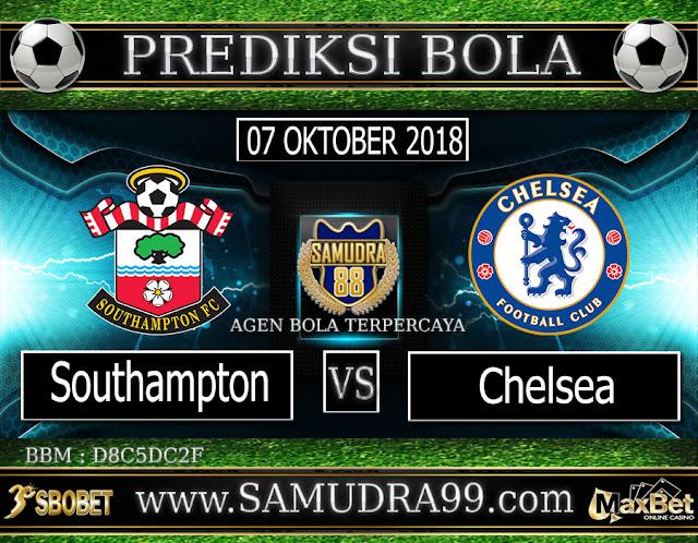PREDIKSI TEBAK SKOR JITU SOUTHAMTON VS CHELSEA 07 OKTOBER 2018