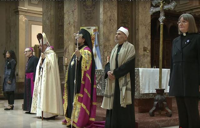 ΤΣΙΡΚΟ με Λύκους! Συμπροσευχή με ..Ιέρειες, Ραβίνους και Μωαμεθανούς, με πρόσχημα τον ιό... (βίντεο)