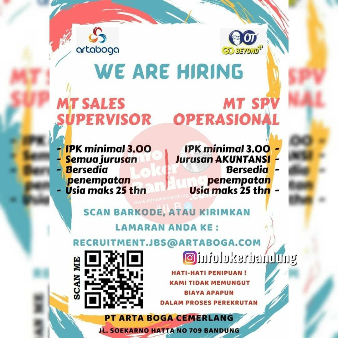 Lowongan Kerja PT. Artaboga Cemerlang ( OT Group ) Bandung September 2020