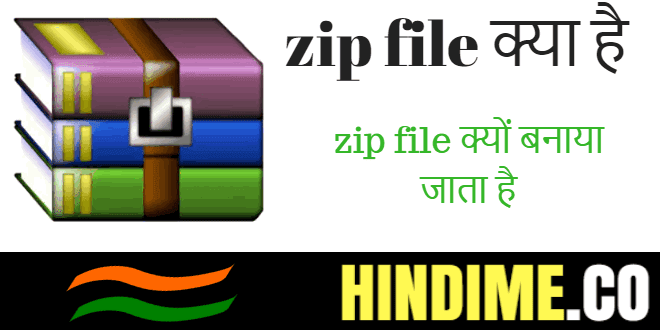 Zip file kya hota hai? zip file kaise banate hain?