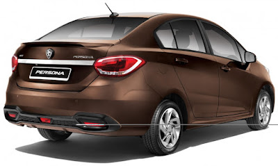 new 2016 Proton Persona  rear view wallpaper