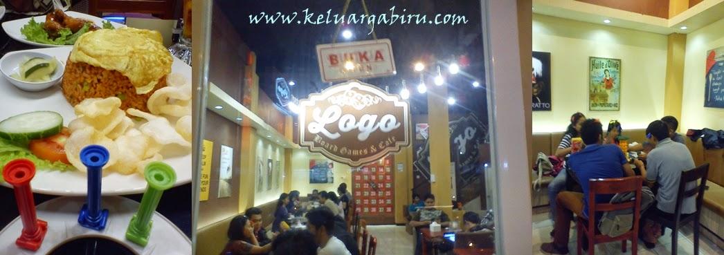 Logo Board Games and Café: Perut Kenyang, Hati pun Riang!