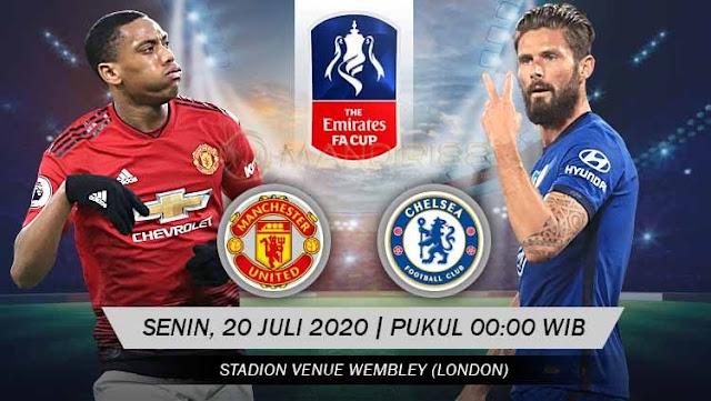 Prediksi Manchester United Vs Chelsea, Senin 20 Juli 2020 Pukul 00.00 WIB @ RCTI