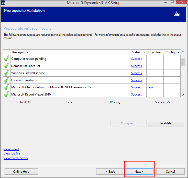 Install Dynamics AX 2012 R3 Step by Step (Step 1) - Microsoft