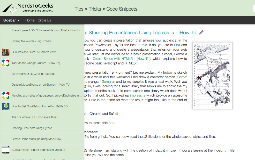 Enhance blogger dynamic views with custom CSS  | Nerds To Geeks - Blog