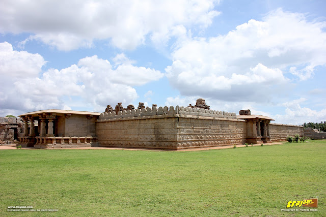 Hazara Rama temple complex in Hampi, Ballari district, Karnataka, India