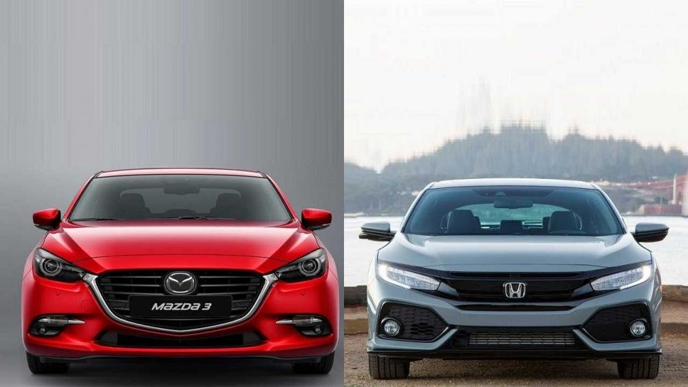 Thông sô kĩ thuật Honda Civic 1.8L| So sánh honda Civic và Mazda 3| Thông số Honda Civic 1.8 2020