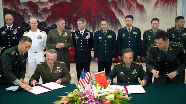 EEUU y China crean línea militar directa sobre armas de Pyongyang