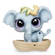 Littlest Pet Shop Blind Bags Elephant (#164) Pet