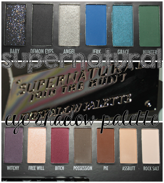 Supernatural Join The Hunt eye shadow palette at Hot Topic!