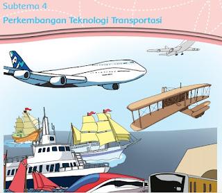 Subtema 4 Perkembangan Teknologi Transportasi www.simplenews.me