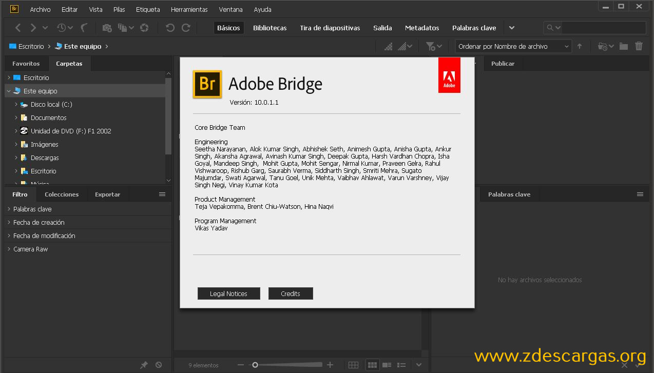 Adobe Bridge CC 2020 Full Español