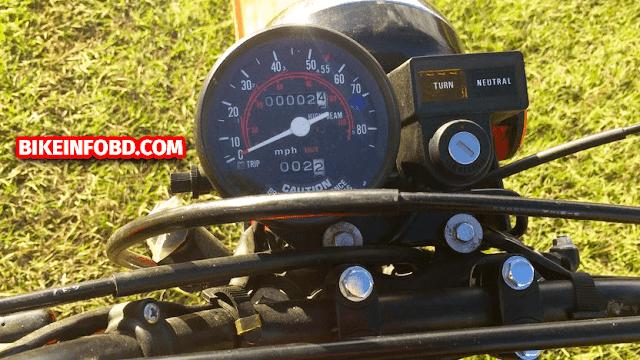 Honda XL185 Speed Meter Picture