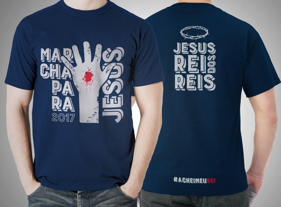 7be97ee1b CRISTÃO NOTÍCIAS  Apóstolo divulga camiseta da Marcha para Jesus