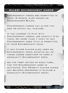 Dog Fight: Starship Edition Rules: Environment Cards