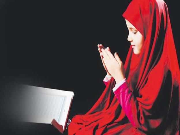 gadis berdoa, gambar dais baca doa, baca doa, gadis