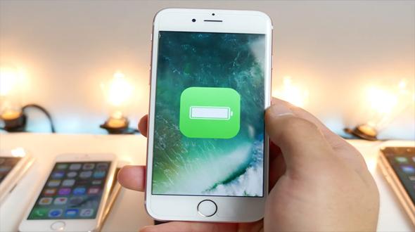 iOS 10 battery