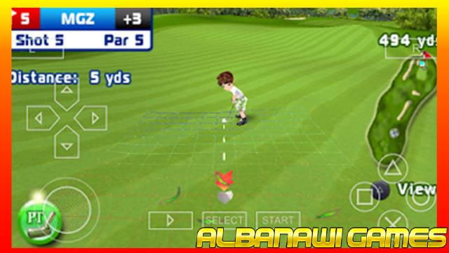 تحميل لعبة Let's Golf لاجهزة psp ومحاكي ppssppمن الميديا فاير