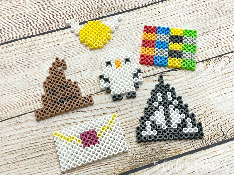 6 Harry Potter Perler Bead Designs