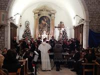Božićni koncert, Bol slike otok Brač Online