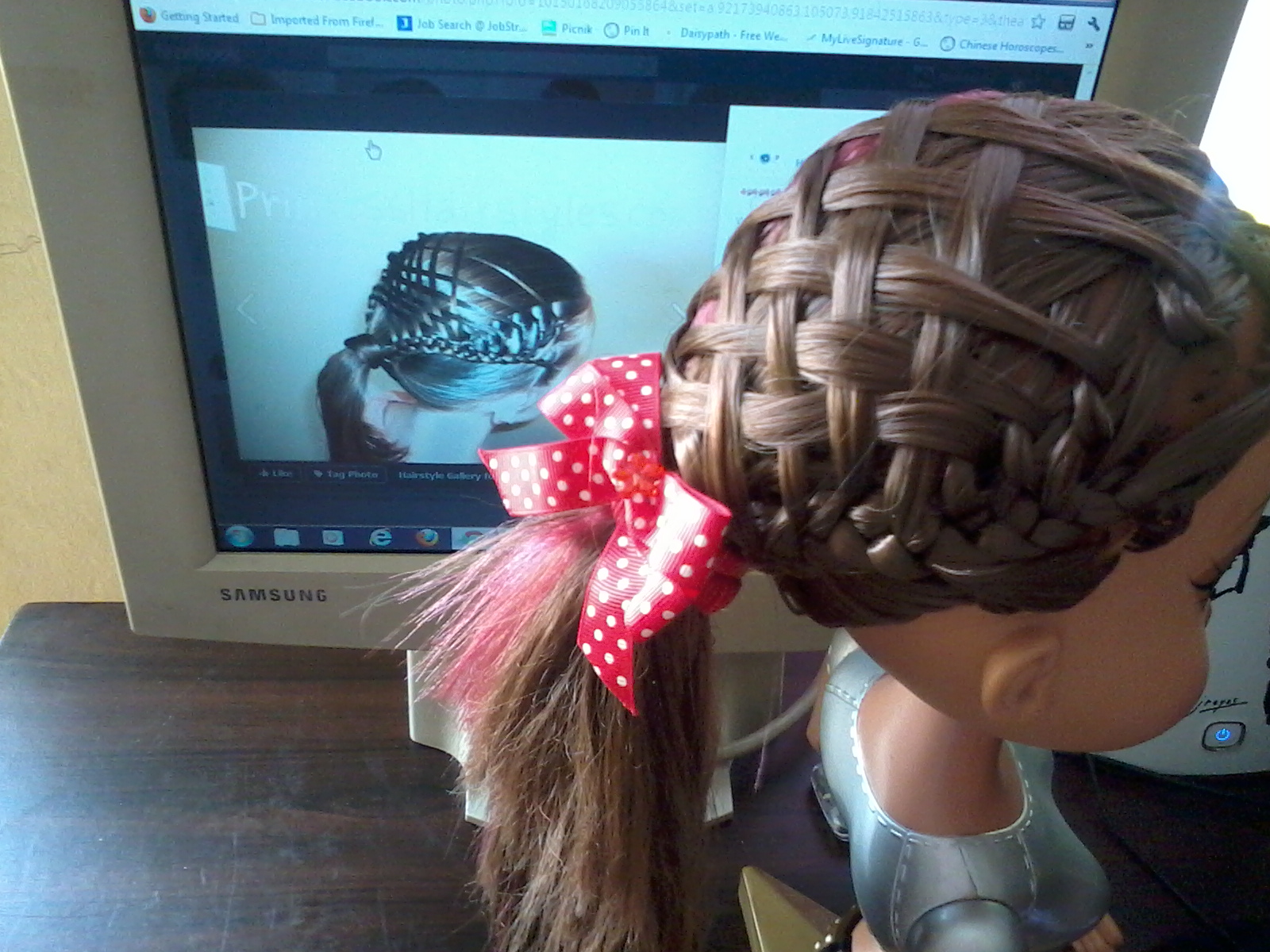 Pretty Hairstyles78 You Braid You Weave Woven French Braid