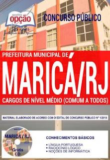 Download Apostila Concurso Prefeitura de Maricá 2018 PDF