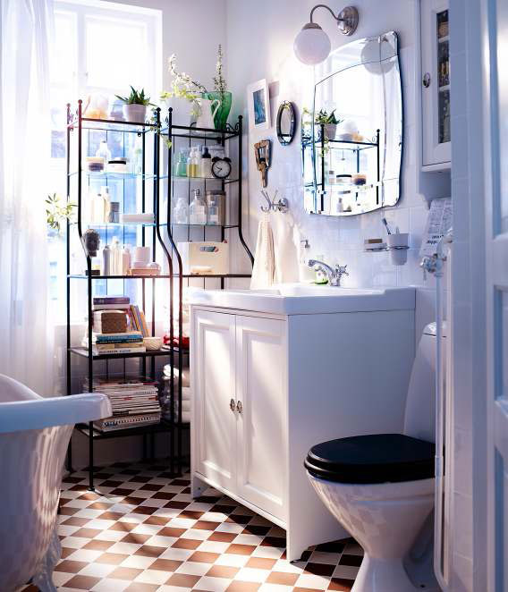 Modern Furniture: New IKEA Bathroom Design Ideas 2012 Catalog