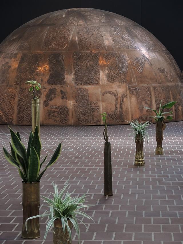 """Antwerpen: Middelheimmuseum: """"Congoville"""""""