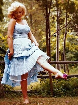 Marilyn Monroe Podolatria Feet Fetish