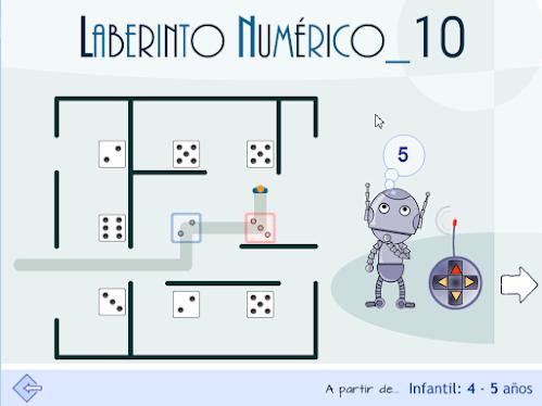 Composición y descomposición interactiva y lúdica del número 10.